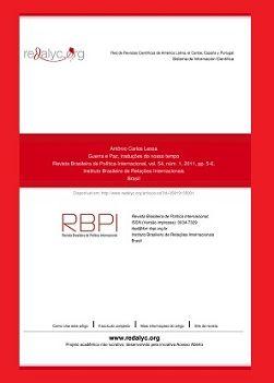 Revista Brasileira de Política Internacional e1594074945310