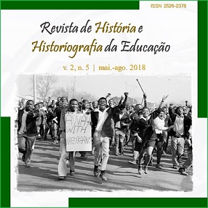 Revista de Historia e Historiografia da Educacao2 História e Historiografia da Educação