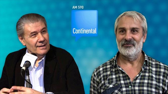 ALTAMIRANO C Victor Hugo Morales entrevista a Claudio Altamirano Radio Continental AM 590 2017 Identidad