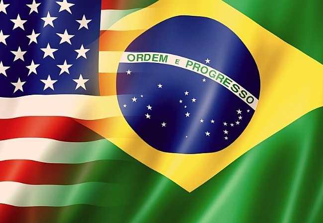 Bandeiras Brasil x EUA Cinema da Política de Boa-Vizinhança