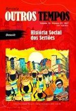 Outros Tempos v 18 n 31 1 História Social dos Sertões