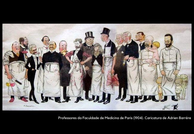BARRIERE Professores da Faculdade de Medicina História da saúde e das doenças