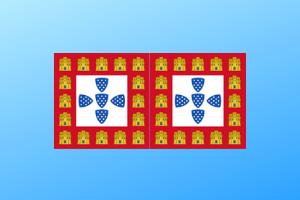 Bandeira de Portugal 1248 centenários portugueses