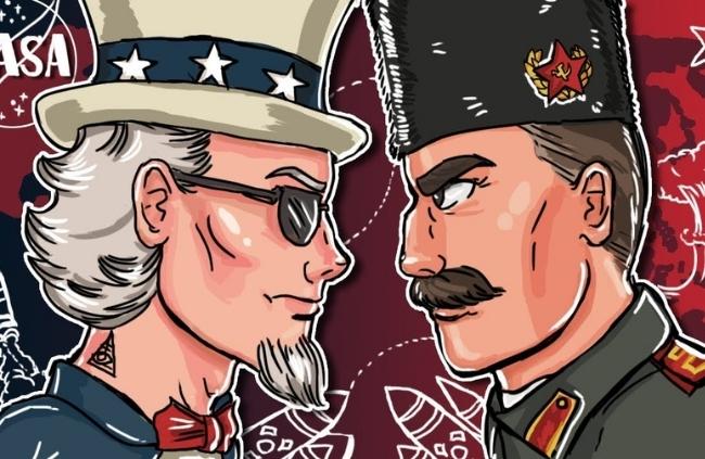 Guerra Fria resumo desenhado Guerra Fria